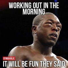 Working Out In The Morning