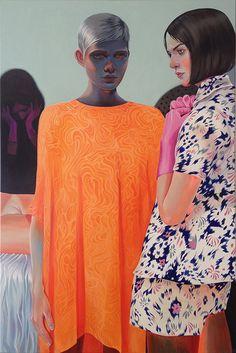 Paintings by Dutch artistMartine Johanna. More images below.      Martine Johanna's Website