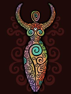 Spiral Goddess by ORUPSIA.deviantart.com on @DeviantArt
