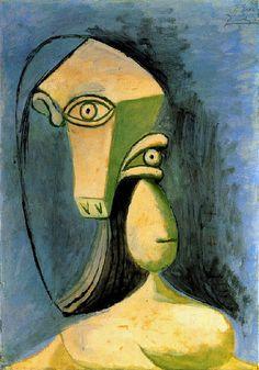 Picasso - Buste de figure féminine - 1940