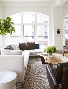 Modern Loft Project modern living room