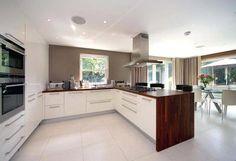 white gloss kitchen