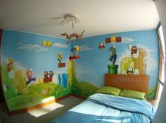 Collin wants this painted on his wall :)  Looks like I will be painting another mural!