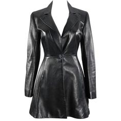 Preowned Christian Dior Black Lambskin Leather Riding Jacket ($965) ❤ liked on Polyvore featuring outerwear, jackets, dresses, black, christian dior, christian dior jacket, lambskin jacket, lambskin leather jackets and lamb leather jacket