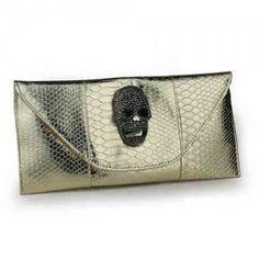 Nuevo bolsa de mano de moda con patrón de calavera para mujer
