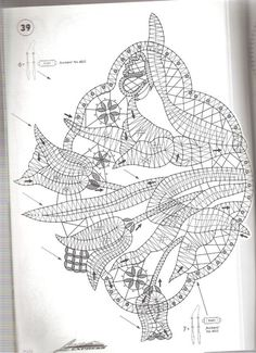 Lace Express 1997-04 (пасхальный .. Form Crochet, Filet Crochet, Irish Crochet, Crochet Doilies, Bobbin Lacemaking, Bobbin Lace Patterns, Lace Heart, Lace Jewelry, Lace Embroidery