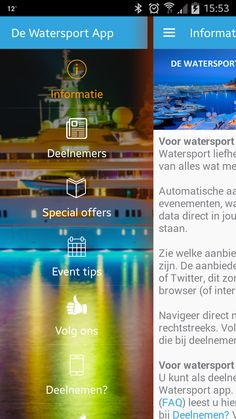 De Watersport App | GeniusApps