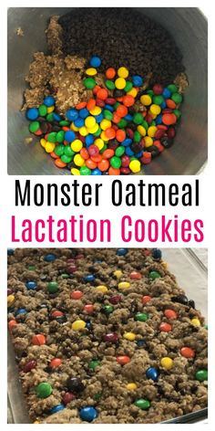 These monster oatmeal lactation cookies are delicious, easy to make (one bowl) a. - These monster oatmeal lactation cookies are delicious, easy to make (one bowl) and your whole famil - Lactation Recipes, Lactation Cookies, Oatmeal Cookies, Lactation Foods, Oatmeal Recipes, Increase Milk Supply, Exclusively Pumping, Breastfeeding And Pumping, Breastfeeding Nutrition