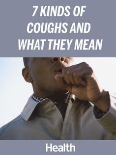 While it's impossible to pinpoint a cough just by how it sounds, there are some key differences to give you clues as to what's going on. Here's a guide. | Health.com