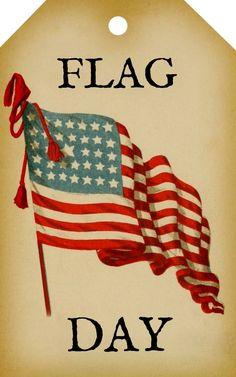 Vintage Flag Day