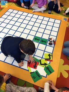 KodujMata - mata do kodowania w szkołach Activities For 5 Year Olds, Toddler Learning Activities, Creative Activities, Stem Activities, Kindergarten, Preschool Math, Nursery Games, Math Stem, Coding For Kids