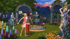 The Sims 4 Romantic Garden Stuff Pack - The Sims™ News via Sims 4 Updates