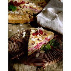 Rybízový koláč s mascarpone | Coolinářka