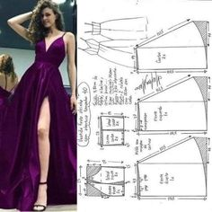 dressmaking patterns sewing ideas dress 15 15 Ideas Sewing Dress Patterns DressmakingYou can find Dress sewing patterns and more on our website Sewing Dress, Diy Dress, Sewing Clothes, Make Dresses, Diy Simple Dress, Long Dresses, Long Gowns, Barbie Clothes, Formal Dresses