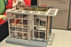 brinca dada dollhouse   Mini Modern: Brinca Dada's Dylan Dollhouse Prototype...