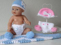 Babypop Kledingsetje (Luier/Diaper) Deel 2/4