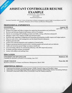 8 Best Resume Samples images | Resume, Resume examples ...