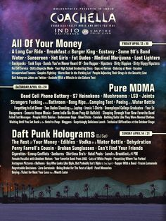 Funny or Die's 2013 Coachella Poster