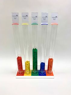 TokensFor offer an extensive range of token tube collectors. These provide a visual way to monitor and collect plastic tokens. Reading Task Cards, Guided Reading, Behavior Management, Classroom Management, Classroom Reward System, Token System, First Grade Sight Words, Schoolgirl Style, School Community