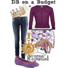 Rapunzel, created by lalakay.polyvore.com