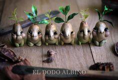 Pirum ambulans Pearpup5 ooak art doll by Eldodoalbino on Etsy