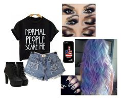 """""""AHS"""" by luhpaynetomlinson on Polyvore featuring moda e Love Moschino"""