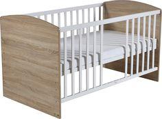 ROBA Le lit à barreaux LENA lit bébé lit enfant, blanc: Amazon.fr: Bébés & Puériculture