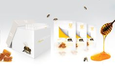Packaging of the World: Creative Package Design Archive and Gallery: Organic Honey (Student Work)