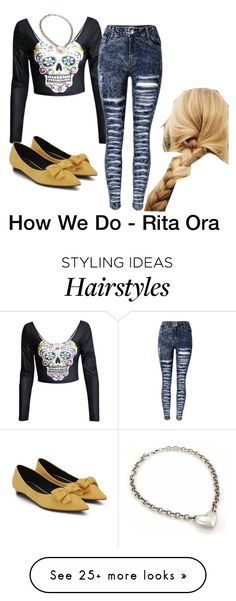 """""""I stumbled up to the window // Opened the curtains to blinding light // Make up all over the pillow // What went on? What went on? What went on last night?"""" by sjc1999 on Polyvore featuring Birks, ritaora and howwedo"""