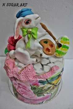 Easter bunny - Cake by N SUGAR ART