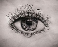 Windows to the soul have deep depths inside of them