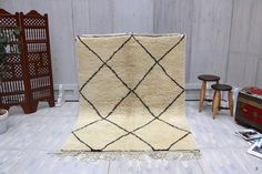 SOFT Gorgeous nursery rug 5x7 idea beni ourain Luxurious Rug Teppich Tapis berber Alfombras berberes Berber teppish Soft Moroccan Rug Rugs