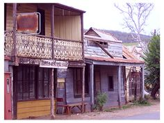 Main Street Sofala, NSW, Australia. Donna Mitchell asked me to find pictures of this old mining town on Google Earth.