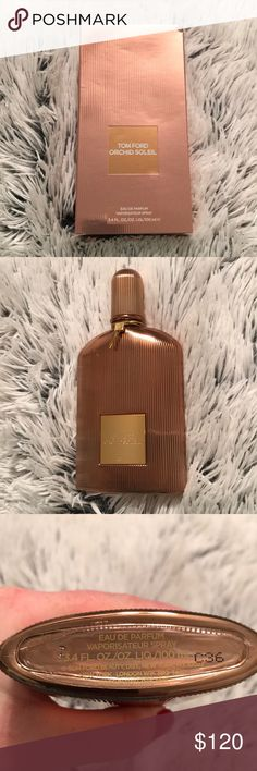 Tom Ford orchid soleil 100% authentic brand new bottle of Tom Ford Orchid Soliel Tom Ford Makeup