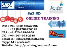 The Sales and Distribution (SAP SD) consists of all master data, systemconfiguration, and transactions to complete the Order to Cash process. Itincludes the following information and processes: Customer Master and Material Master data Sales Orders Deliveries Pricing Billing Credit Management.