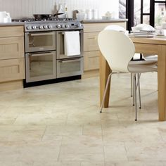 Brilliant Kitchen Flooring Ideas On Floor Tiles With Tile Ideas. Kitchen Gallery at Remarkable Best Kitchen Flooring Pics Decoration Ideas Modern Kitchen Flooring, Kitchen Floor Tile, Kitchen Remodel, Kitchen Design, White Kitchen Tiles, White Kitchen Design, Professional Kitchen Design, Kitchen Flooring Options, Minimalist Kitchen