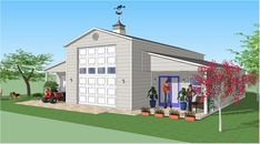 Bradley Mighty Steel RV Garage for sale, RV Shelter pricing Metal Buildings For Sale, Shop Buildings, Steel Buildings, Shed Floor Plans, Barn Plans, House Plans, Rv Garage, Garage Plans, Garage Ideas