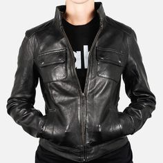 Leather Jacket Black now featured on Fab.
