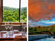 This All-glass Dining Room in the Catskill Mountains Is the Best Place to See Fall Foliage — Travel + Leisure Scenic Car, Catskill New York, Nyc Bucket List, Catskill Mountains, Country Landscaping, Breath Of Fresh Air, Travel And Leisure, Outdoor Life, Play Houses