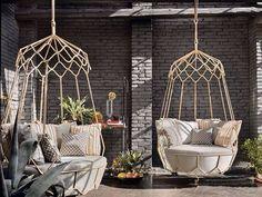 E quem não queria uma cadeira de balanço dessa? #archilovers #archdaily #arquitetura #house #decoração #decorar #design #art #love #interioresdesign #instadesign #instamood #decor #cute #inspiração #decorar #bomdia #marquitetura #luxo #ideia #natureza #sustentabilidade #inspiration #projeto #perfect #projetomarinaamorim by marquiteturaa http://ift.tt/25vJFY1