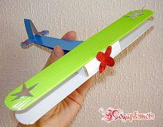 Поделка самолет из бумаги  Paper plane