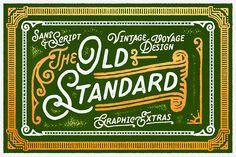 Add A Vintage Sans Script Into Your Work + Bonus Elements!