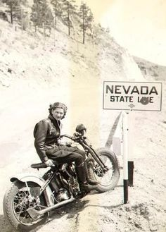 Nevada, home of wide open spaces, for fast driving ... and Las Vegas, for fast everything else!
