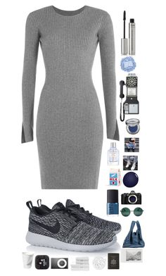 """Distorted reflections"" by s-ash-ao on Polyvore featuring Alexander Wang, NIKE, By Terry, Dot & Bo, Urban Decay, Givenchy, NARS Cosmetics, Olympus, YHF and Maison Margiela"