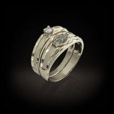 harley davidson wedding rings | ... Officially Licensed Harley-Davidson® Jewelry by Stamper Jewelry Inc