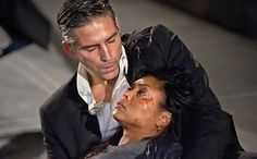 DAMN! DAMN! DAMN! THE BEST NOT ONLY BLACK BUT ACTRESS ON TV HAS BEEN KILLED OFF!!! DAMN!!! BEST TV SHOW EVER IS JUST DONE!!! LEAST SHE GOT TO KISS JIM ON THE LIPS... 'Person of Interest' midseason shocker: Taraji P. Henson talks Carter's big [SPOILER!] | EW.com