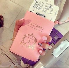 Beautiful pink passport holder | interior design, luxury lifestyle, home decor. More inspirations at http://www.bocadolobo.com/en/inspiration-and-ideas/