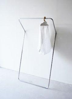 Minimalist clothes rack via STIL inspiration