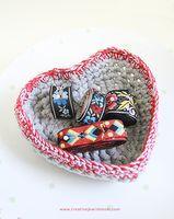 Free pattern | crochet basket
