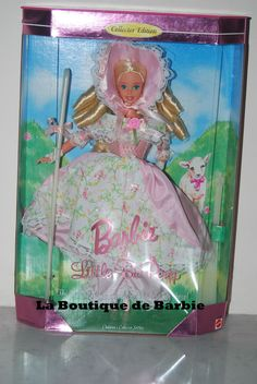 BARBIE DOLL AS LITTLE BO PEEP, CHILDREN'S COLLECTOR SERIES, 14960, 1996, NRFB